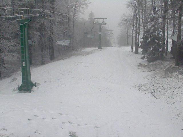 Webcam na Třebovské sjezdovce - Orlické hory