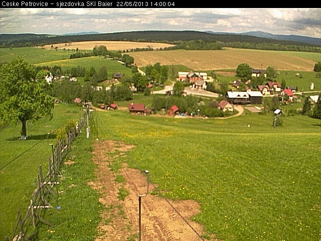 look to competition area - webcam in �esk� Petrovice