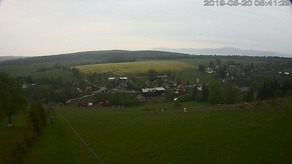 look to competition area - webcam in České Petrovice