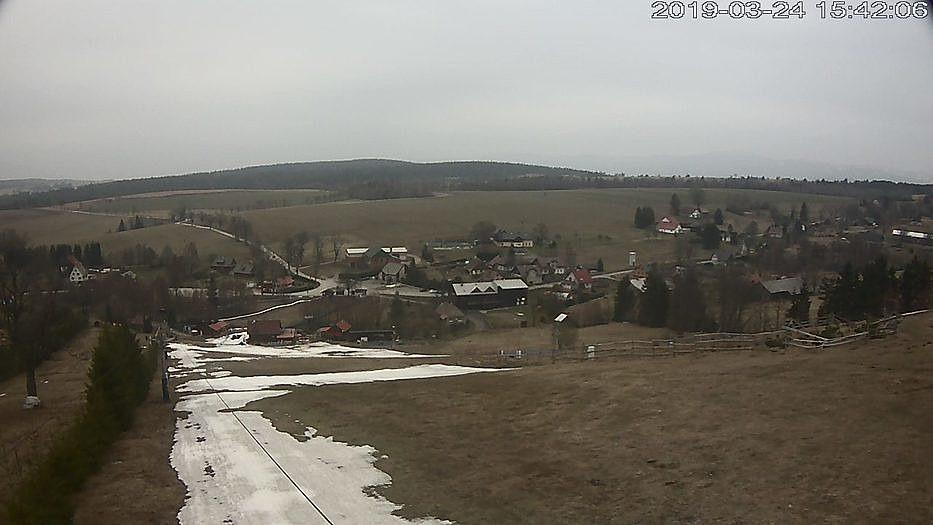 pohled na prostor závodu - webkamera v Českých Petrovicích