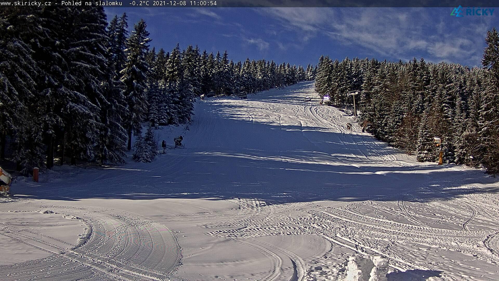 Webcam Skigebied Ricky v O.h. schwarze Piste - Adelaarsgebergte