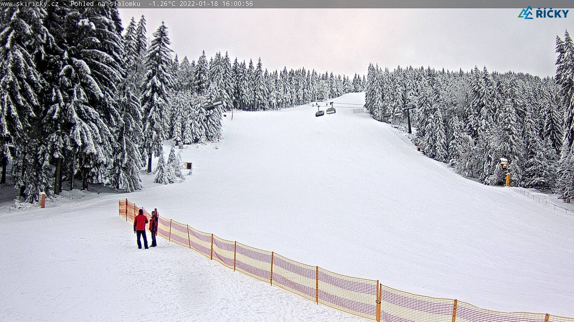 Webcam Ski Resort Ricky v O.h. schwarze Piste - Eagle Mountains