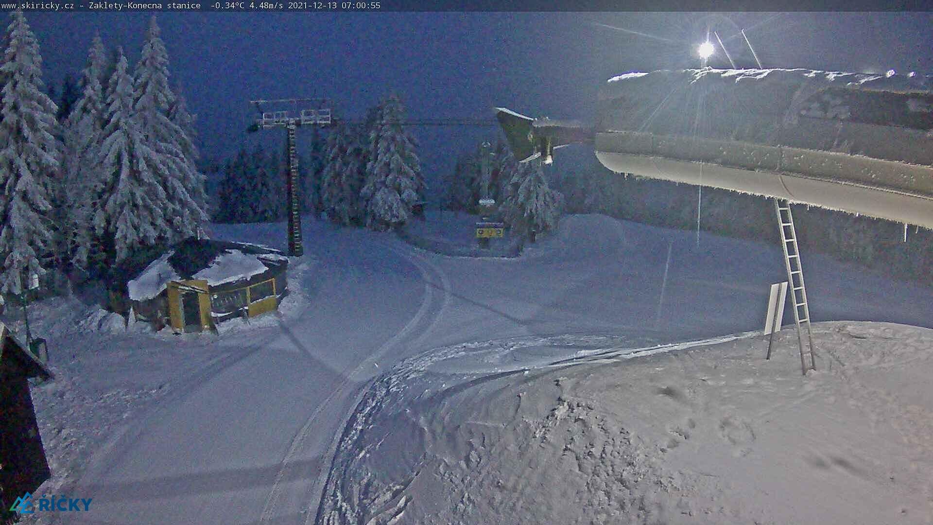 Webcam Skigebied Ricky v O.h. Ausstieg Sessellift - Adelaarsgebergte