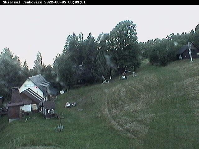 Webcam Skigebiet Cenkovice cam 2 - Adlergebirge