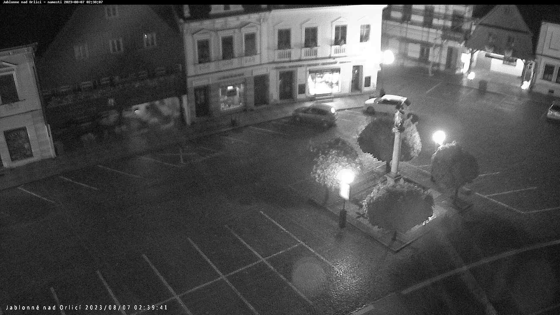 Webová kamera Jablonné nad Orlicí - náměstí