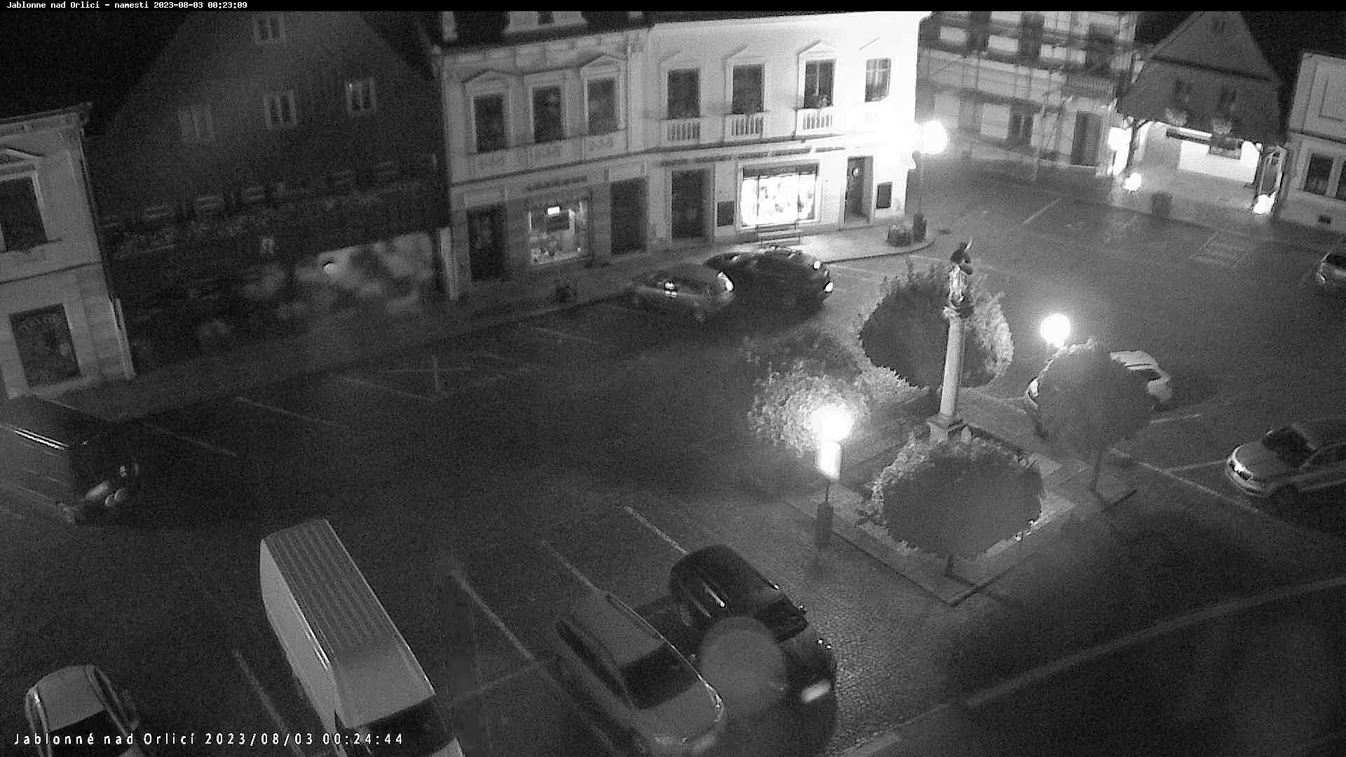 Webkamera - Jablonné nad Orlicí