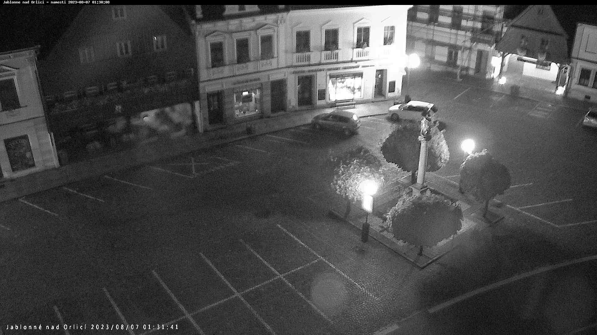 Webcam - Jablonné nad Orlicí