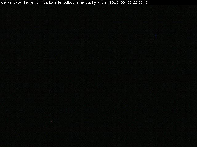 Webová kamera Červenovodské sedlo - Informační centrum, občerstvení