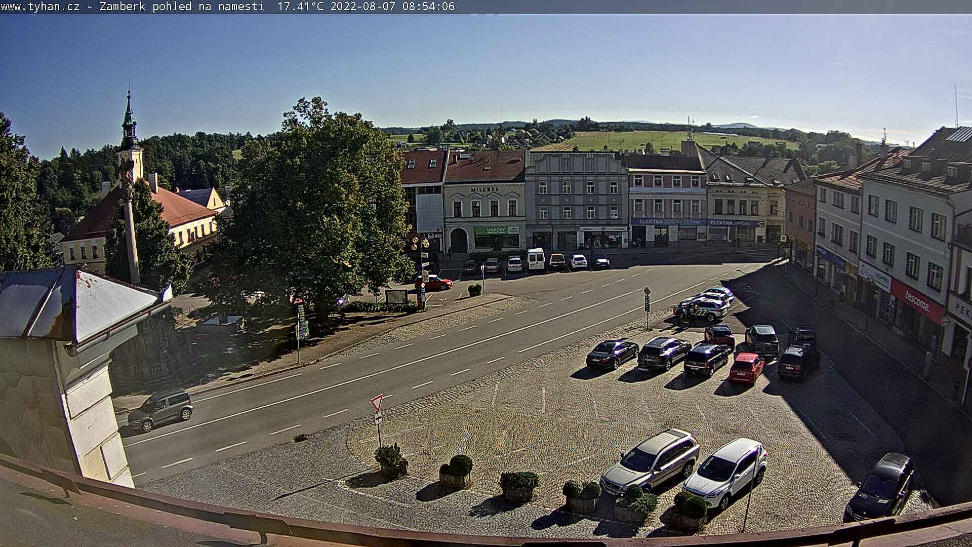 Webcam - Žamberk