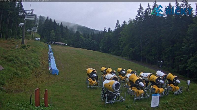 Webkamera - lyžařská škola